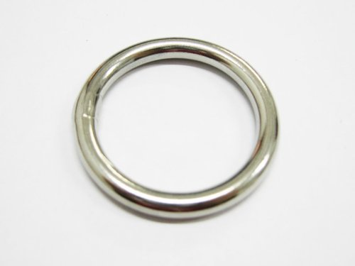 Stainless steel 25mm ring